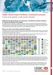 Subject Index A - HSBC careers site