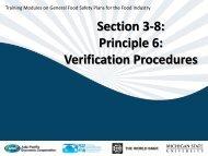 Section 3-8: Principle 6: Verification Procedures