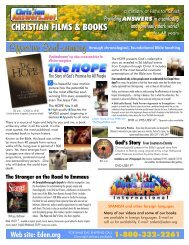 Download current printed catalog - Christian Answers Network