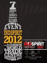 Date: 2-3 March,2012 Venue: World Trade Centre ... - INDSPIRIT 2012