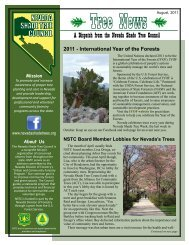 NSTC Newsletter - Nevada Shade Tree Council