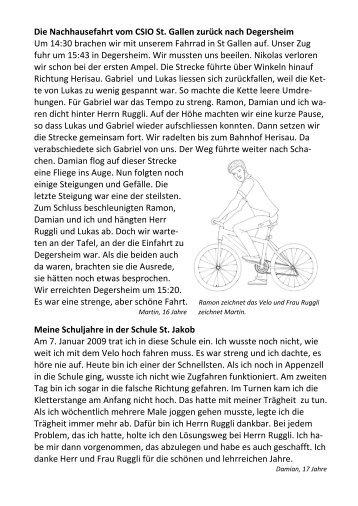 Schulblatt 2/2012 - Katholische Schulen Schweiz KSS