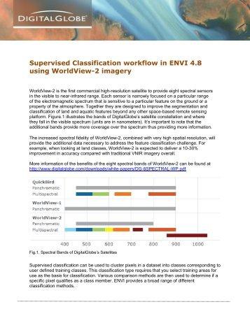 Multispectral Analysis in ENVI 4.8 using WorldView-2 - DigitalGlobe
