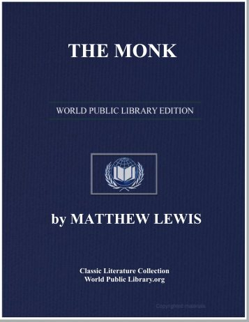 THE MONK - World eBook Library - World Public Library