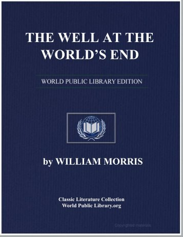 THE WELL AT THE WORLD'S END - World eBook Library - World ...