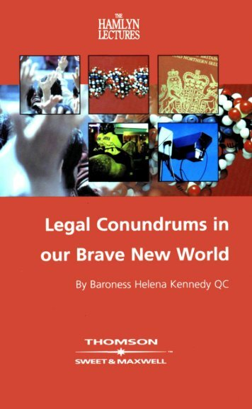 1 Legal Conundrums in our Brave New World - College of Social ...