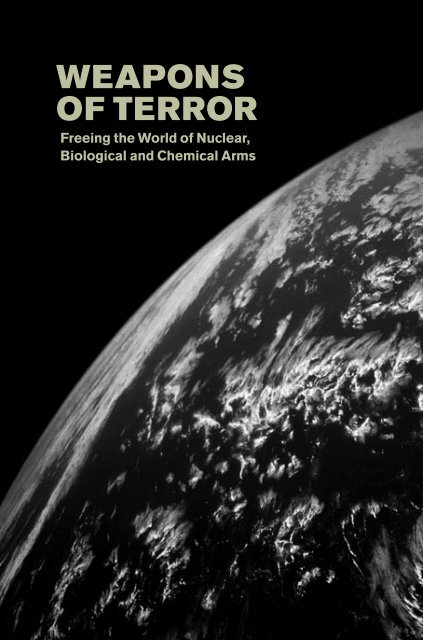 Weapons of Terror: Freeing the World of Nuclear - Blix & Associates