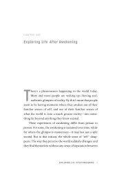 Exploring Life After Awakening