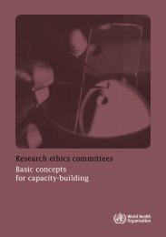 Basic concepts for capacity-building - World Health Organization