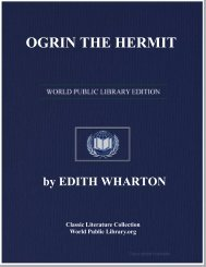 OGRIN THE HERMIT - World eBook Library - World Public Library