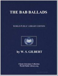 THE BAB BALLADS - World eBook Library - World Public Library
