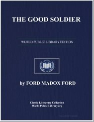 THE GOOD SOLDIER - World eBook Library - World Public Library