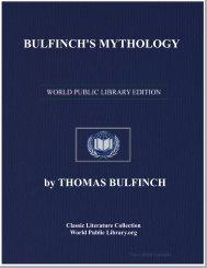 BULFINCH'S MYTHOLOGY - World eBook Library - World Public ...