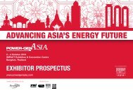 ADVANCING ASIA'S ENERGY FUTURE - POWER-GEN Asia