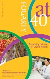 Advancing Science for Global Health - Fogarty International Center ...