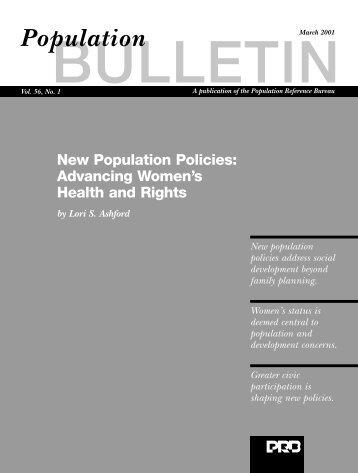 56.1 bulletin for pdf - Population Reference Bureau