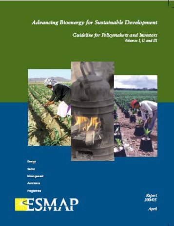 Advancing Bioenergy for Sustainable Development - COMMEND ...