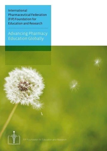 Advancing Pharmacy Education Globally - FIP