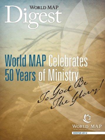 Winter 2012: 50th Anniversary Commemorative issue! - World MAP