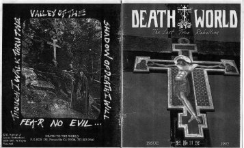 Death to the World - Zine vol. 11 - DesertWisdom.org