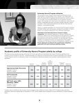 freshman admission at the University of Minnesota - Page 5