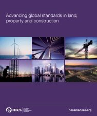 Advancing global standards in land, property and construction - RICS