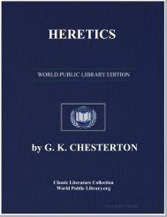 HERETICS - World eBook Library - World Public Library