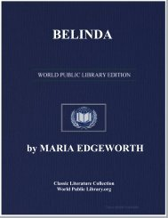BELINDA - World eBook Library - World Public Library