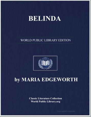 BELINDA - World eBook Library - World Public Library