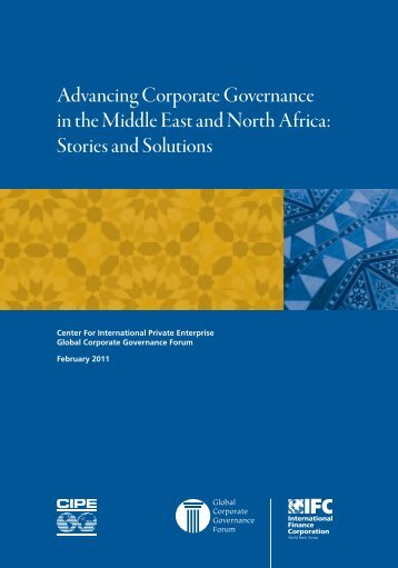 Advancing Corporate Governance in the Middle East and North ...