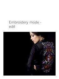8. Embroidery mode - edit (pdf) - Pfaff