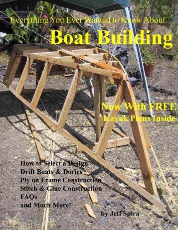 Download Boat Building E-Book - Southern California Ocean Fishing