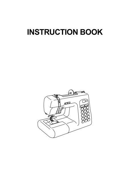 Download Manual - Janome