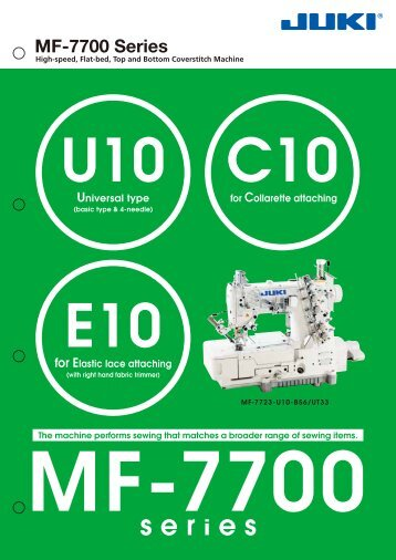 MF-7700 Series - JUKI