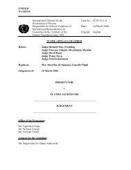 Prosecutor v. Zlatko Aleksovski Judgement - ICTY