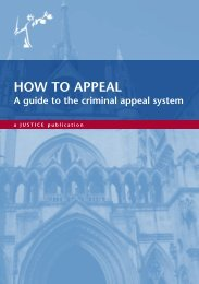 How to Appeal 2011 - Justice