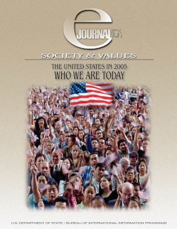 e Journal \ WHO WE ARE - About the USA