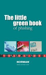 The little green book of phishing - Norman