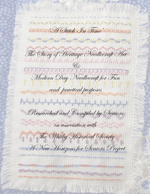 Desert Island Stitches a Needlepoint Book ~ Excellent Diagram Stitches  78 pg.
