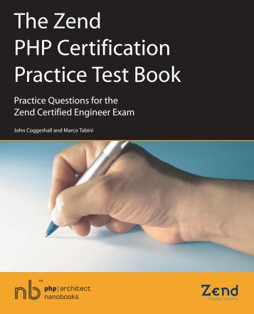 The Zend PHP Certification Practice Test Book