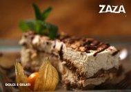 Dessert Menu - Zaza
