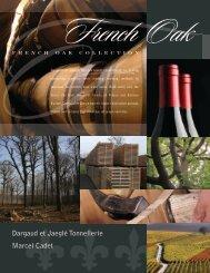 French Oak Barrel Brochure - Premier Wine Cask