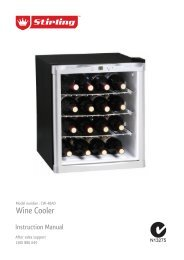 CW-48AD Stirling Wine Cooler - Tempo (Aust)