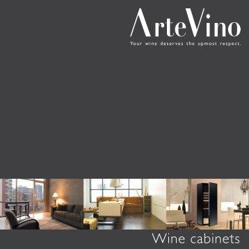 Wine cabinets - ArteVino