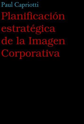 Planificación estratégica de la Imagen Corporativa