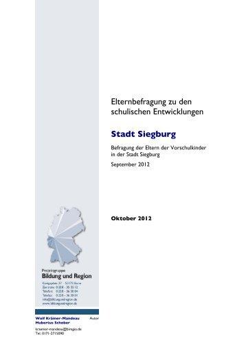 24.10.2012 - Schulbefragung, Teil 1 (pdf ) - Siegburg