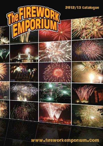 our 2012/13 brochure! - Firework Emporium