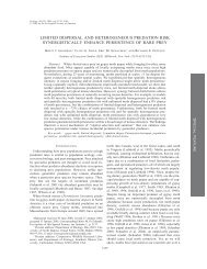 PDF (437 KB) - Ecological Society of America