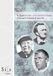 Flyer - KUBUS-SILS.CH