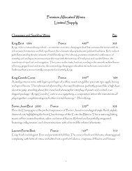 a sample list - August E's